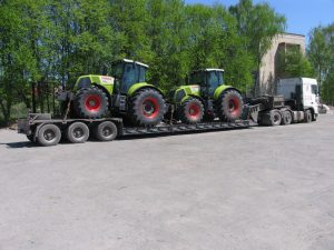 Перевозка тракторов специалистами СТОУН-ЛОГИСТИКА