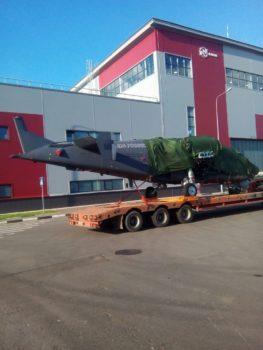 Перевозка вертолета автотранспортом для ВМФ России