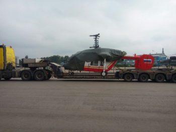 Перевозка вертолета автотранспортом СТОУН-ЛОГИСТИКА